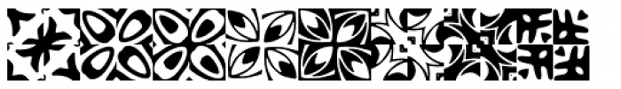 Basketweave Eight Font LOWERCASE