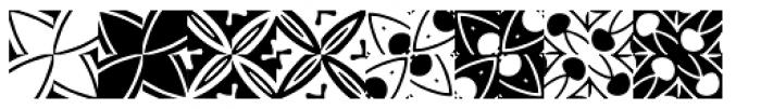 Basketweave Two Font LOWERCASE