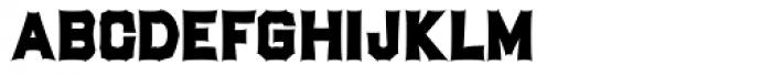 Bastinado Font UPPERCASE