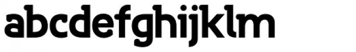 Bastonello Bold Font LOWERCASE