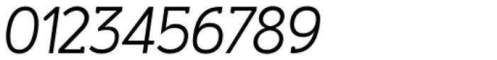 Bastonello Light Oblique Font OTHER CHARS