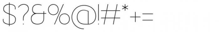 Bastonello Thin Font OTHER CHARS