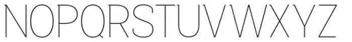Bastonello Thin Font UPPERCASE