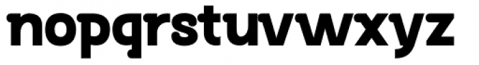 Bastonello Ultra Bold Font LOWERCASE