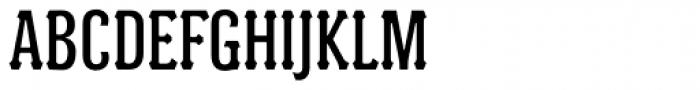 Batak Condensed Font UPPERCASE