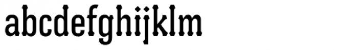 Batak Condensed Font LOWERCASE