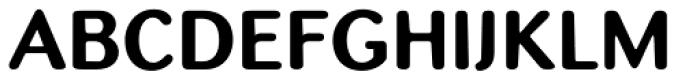 Batke Bold Font UPPERCASE