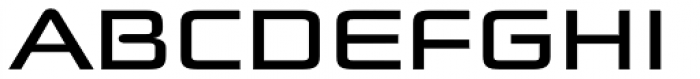 Batory Wide Font UPPERCASE