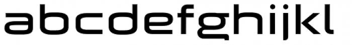 Batory Wide Font LOWERCASE