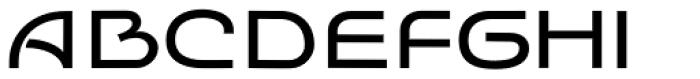 Batoswash Wide Font UPPERCASE