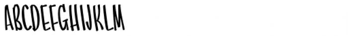 Batticuore Caps Backslanted Font UPPERCASE