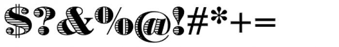 Battista Stroke Font OTHER CHARS