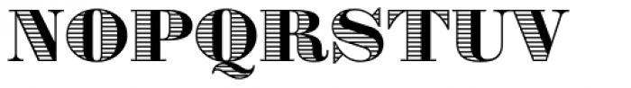 Battista Stroke Font UPPERCASE