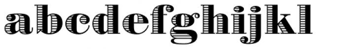 Battista Stroke Font LOWERCASE