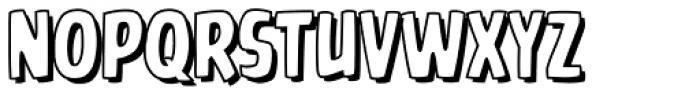 Battle Cry Open Font UPPERCASE