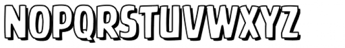 Battle Cry Open Font LOWERCASE