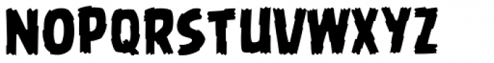 Battle Damaged Font LOWERCASE