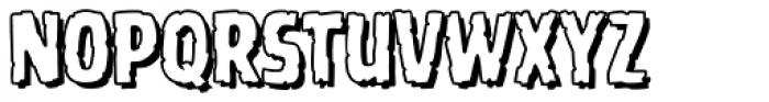 Battle Scarred Open Font LOWERCASE