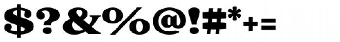 Battlefin Black Font OTHER CHARS