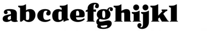 Battlefin Black Font LOWERCASE