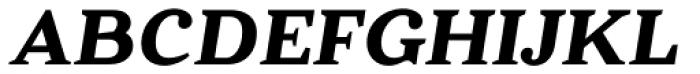 Battlefin Bold Italic Font UPPERCASE
