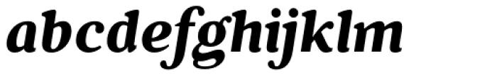Battlefin Bold Italic Font LOWERCASE