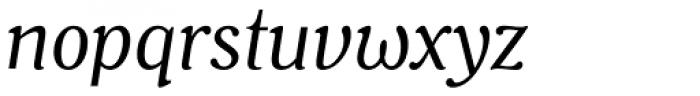 Battlefin Italic Font LOWERCASE