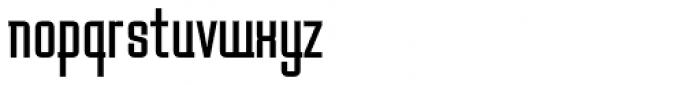 Baucher Gothic URW Bold Extended Alternates Font LOWERCASE