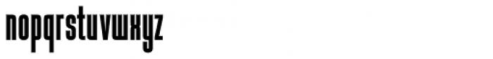 Baucher Gothic URW Bold Font LOWERCASE