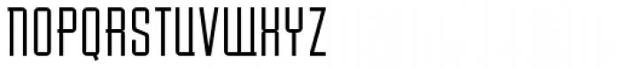 Baucher Gothic URW Extended Alternates Font UPPERCASE