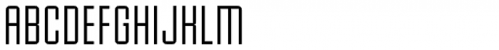 Baucher Gothic URW Extended Font UPPERCASE