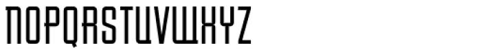Baucher Gothic URW Medium Extended Alternates Font UPPERCASE