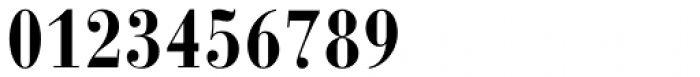 Bauer Bodoni Bold Condensed Font OTHER CHARS