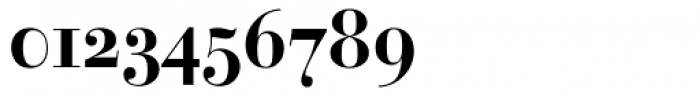 Bauer Bodoni Bold Oldstyle Figures Font OTHER CHARS