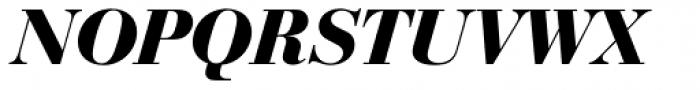 Bauer Bodoni D Bold Italic Font UPPERCASE