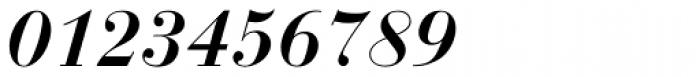 Bauer Bodoni D Demi Bold Italic Font OTHER CHARS