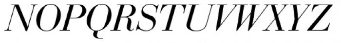 Bauer Bodoni D Italic Font UPPERCASE