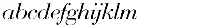 Bauer Bodoni D Italic Font LOWERCASE