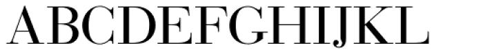 Bauer Bodoni D Regular Font UPPERCASE