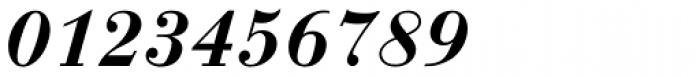 Bauer Bodoni Demi Bold Italic Font OTHER CHARS