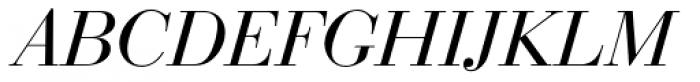 Bauer Bodoni EF Italic Font UPPERCASE