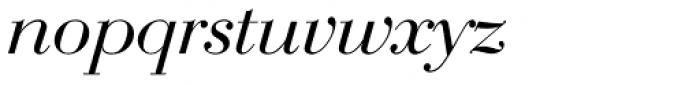 Bauer Bodoni EF Italic Font LOWERCASE
