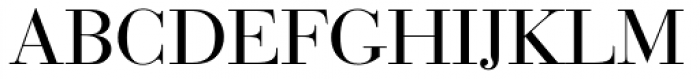 Bauer Bodoni EF Regular Font UPPERCASE