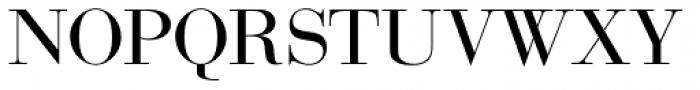 Bauer Bodoni SC D Regular Font UPPERCASE