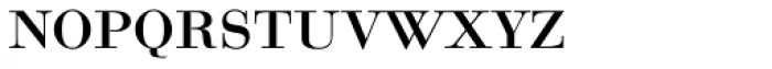 Bauer Bodoni SC D Regular Font LOWERCASE