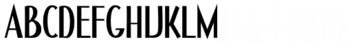 Bauer House Regular Font UPPERCASE