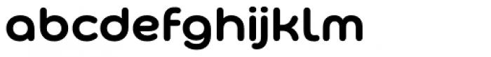 Bauhaus Bugler Soft Bold Font LOWERCASE