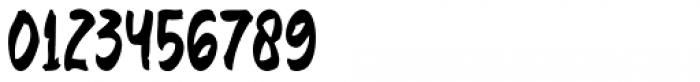Baver Brush Regular Font OTHER CHARS