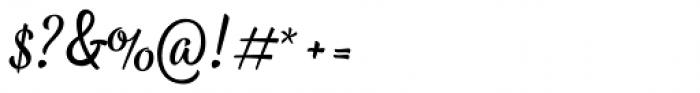 Bayamo Regular Font OTHER CHARS