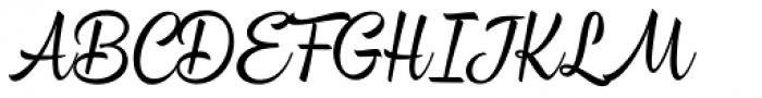 Bayamo Regular Font UPPERCASE